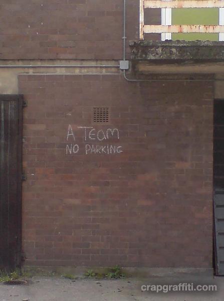 a-team-no-parking